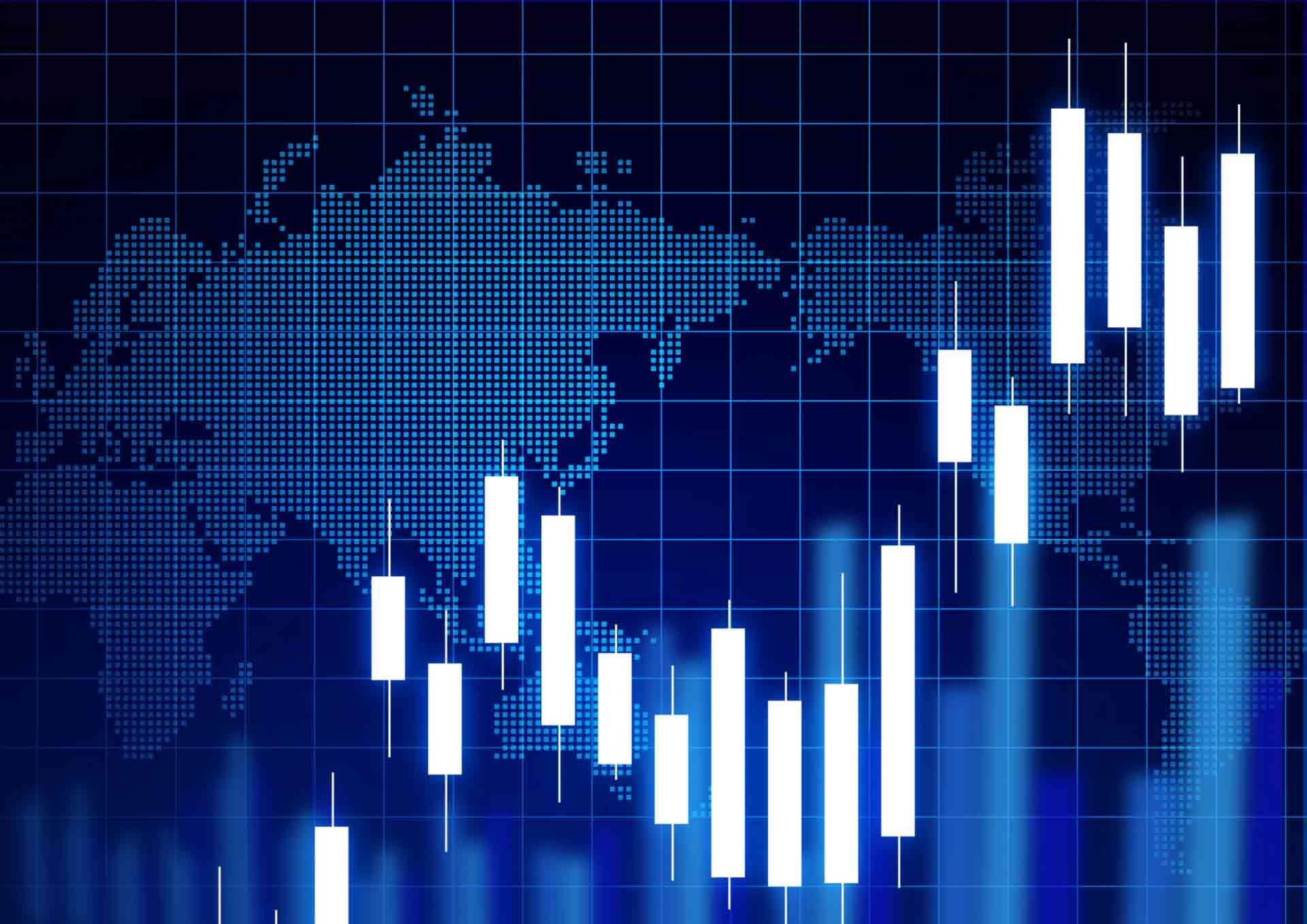 株価チャートのイメージ