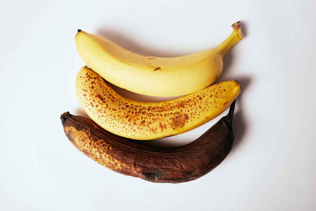 腐敗したバナナ