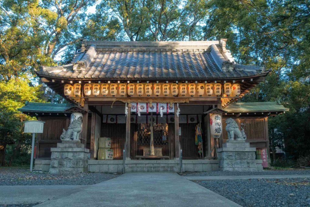 神足神社の狛犬