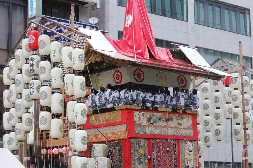 京都・祇園祭の山車