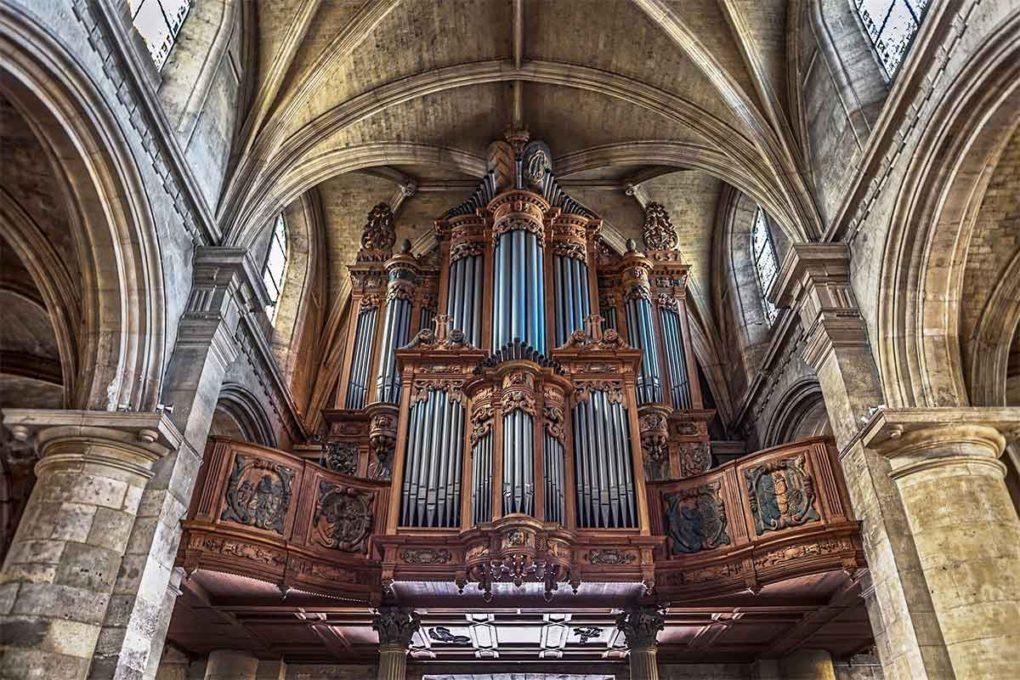 ノートルダム大聖堂のパイプオルガン