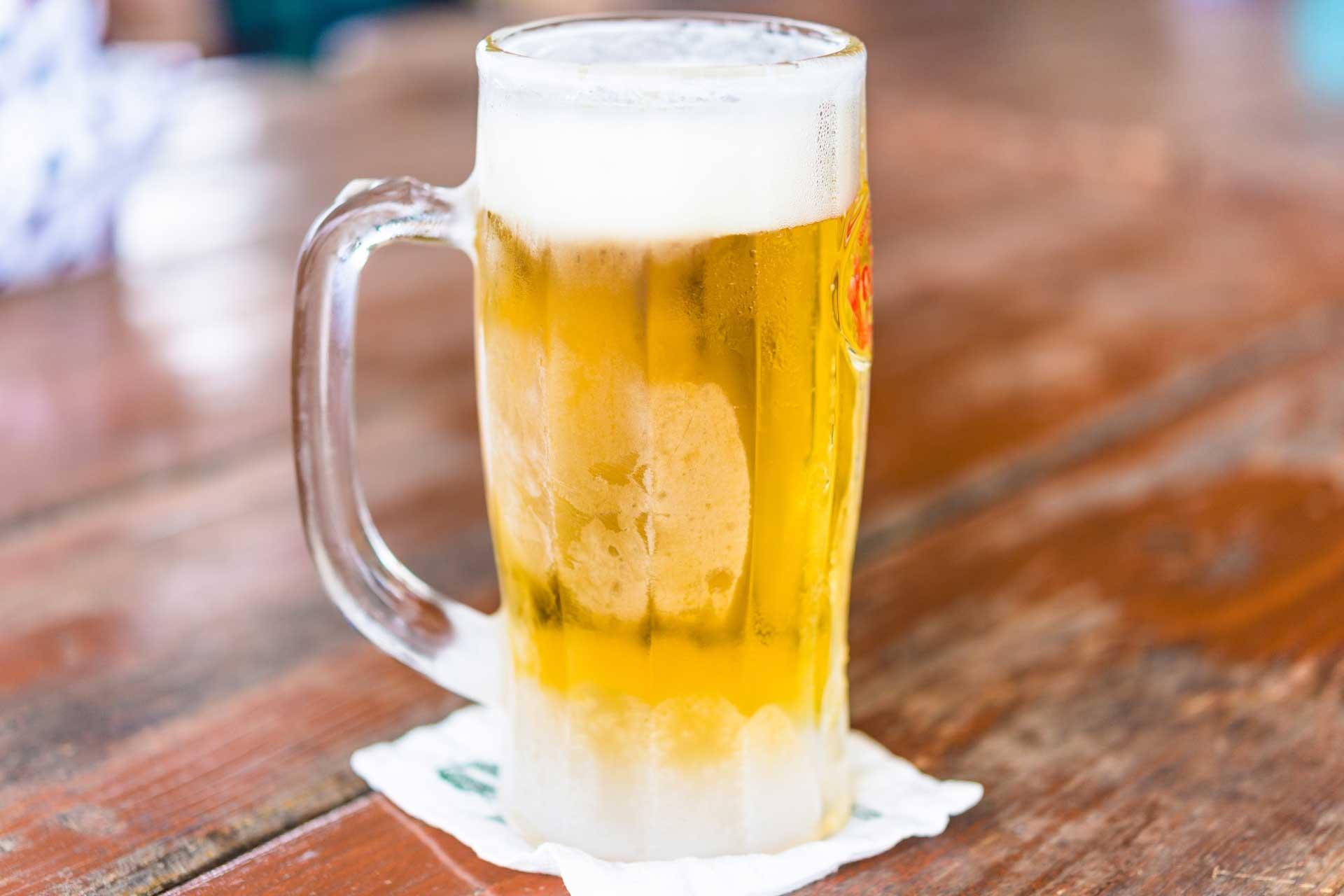 ジョッキビール