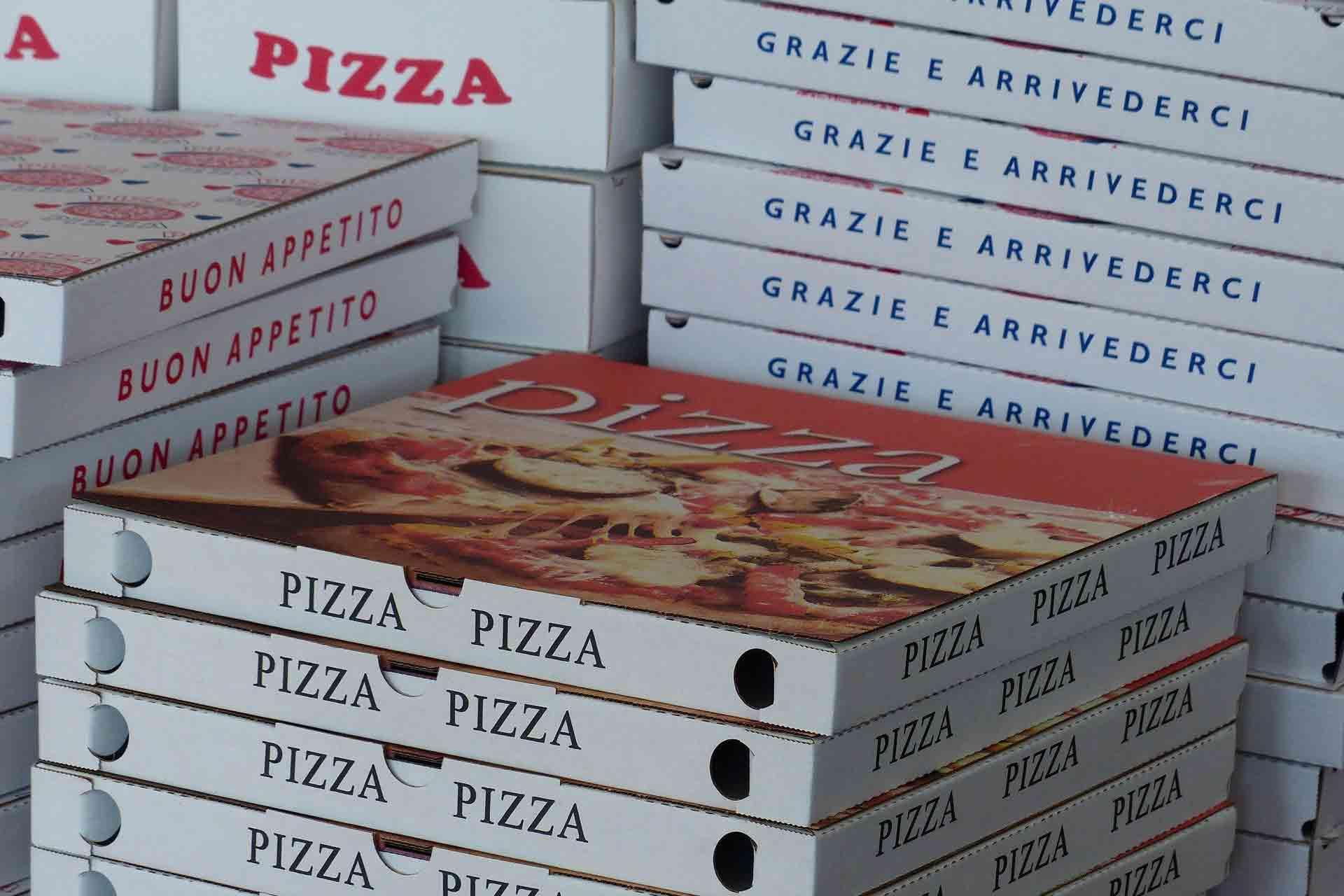 ピザの空き箱