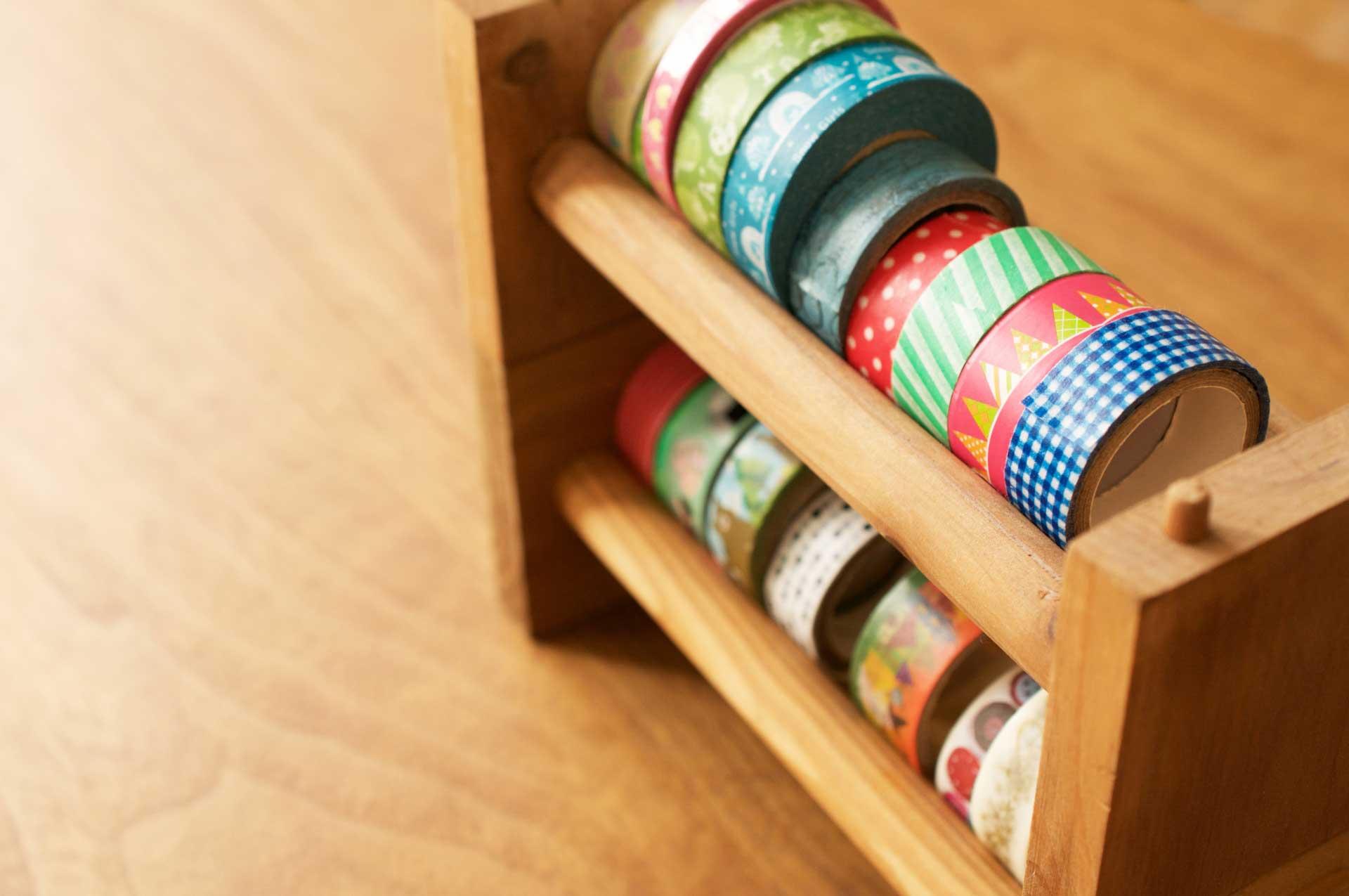 色とりどりのマスキングテープ