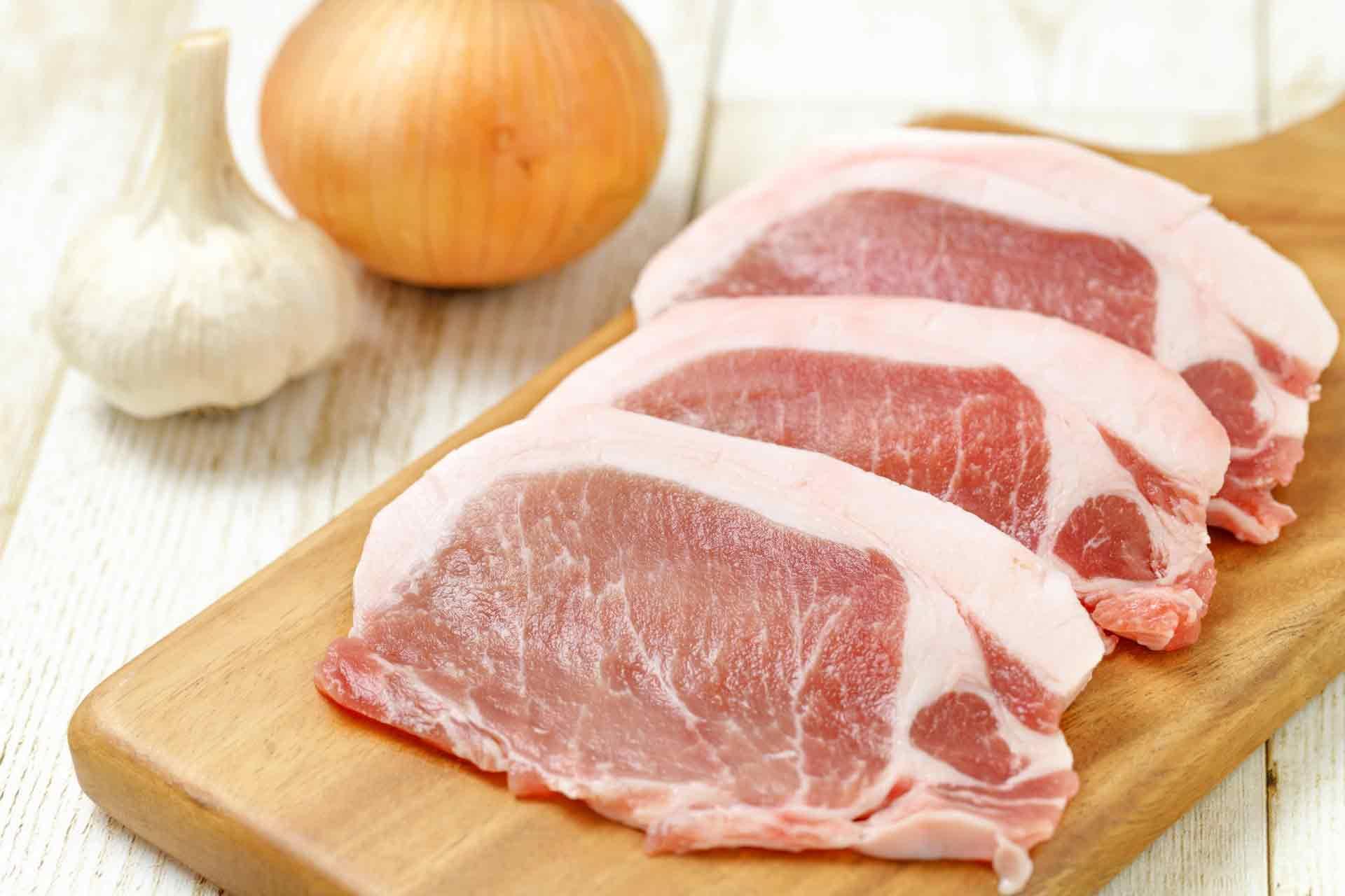 豚肉とたまねぎ