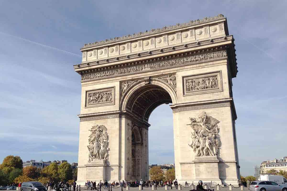 フランス・凱旋門