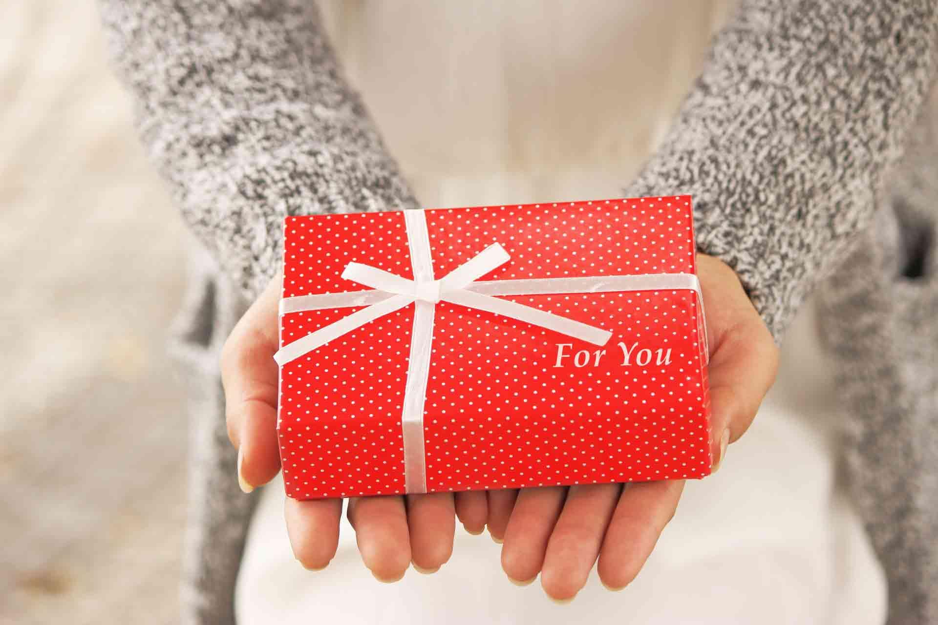赤いプレゼント