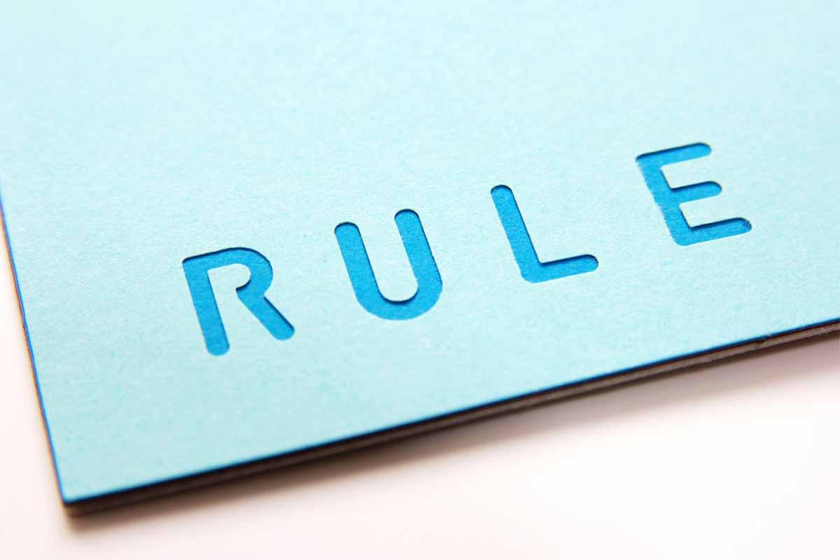 RULEのイメージ画像