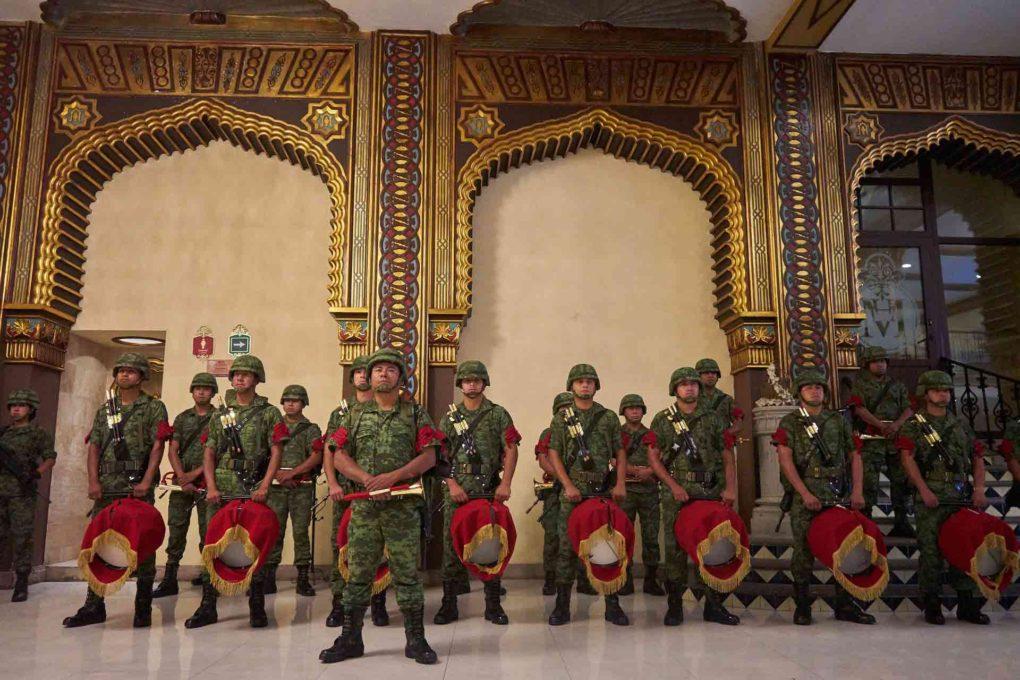 軍隊のイメージ