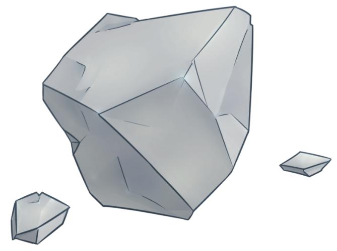 鉱物のイラスト