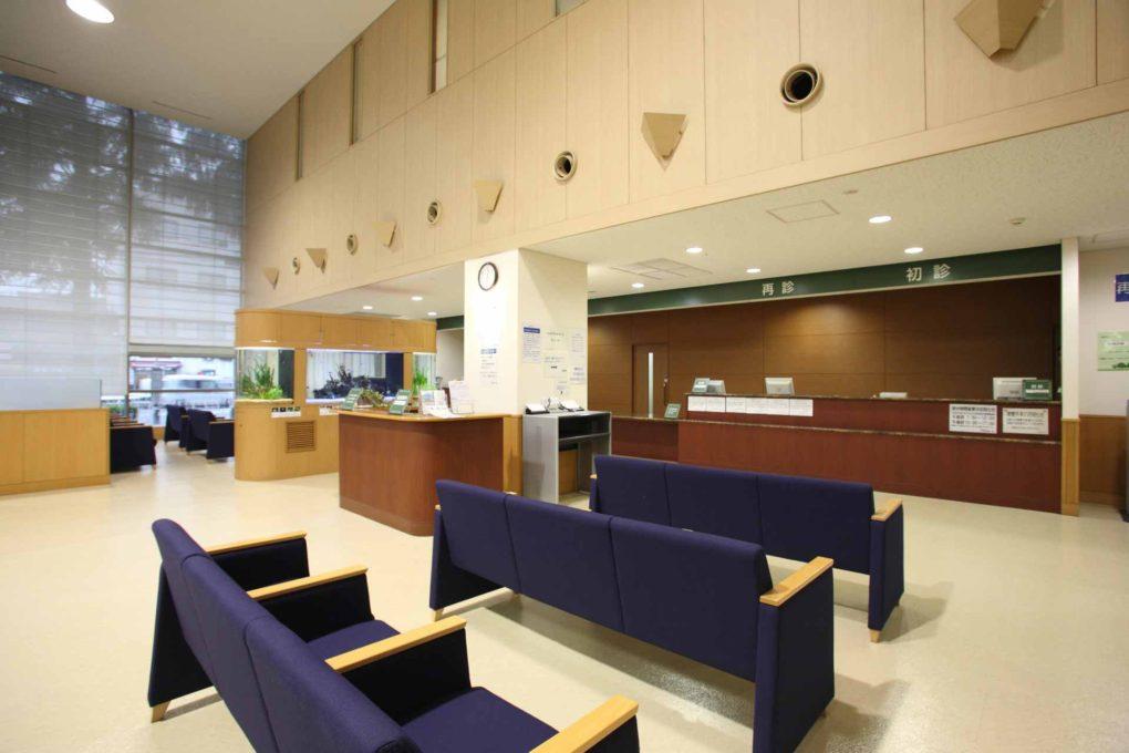 病院の受付のイメージ