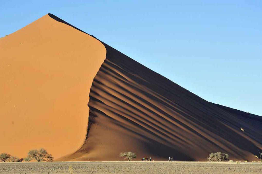 ナミブ砂漠の砂丘