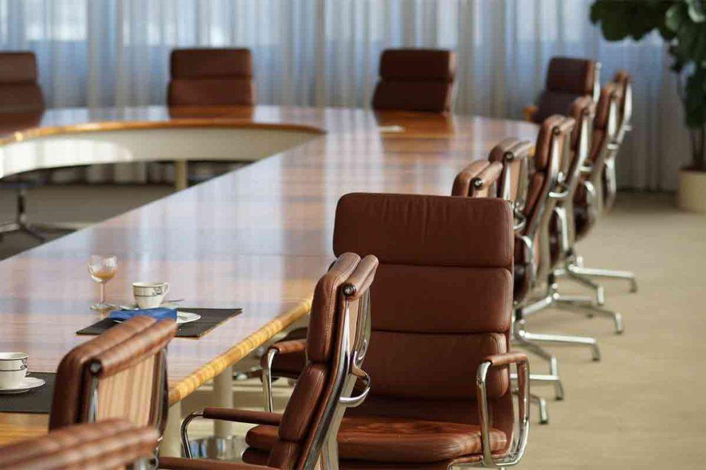 会議室の風景
