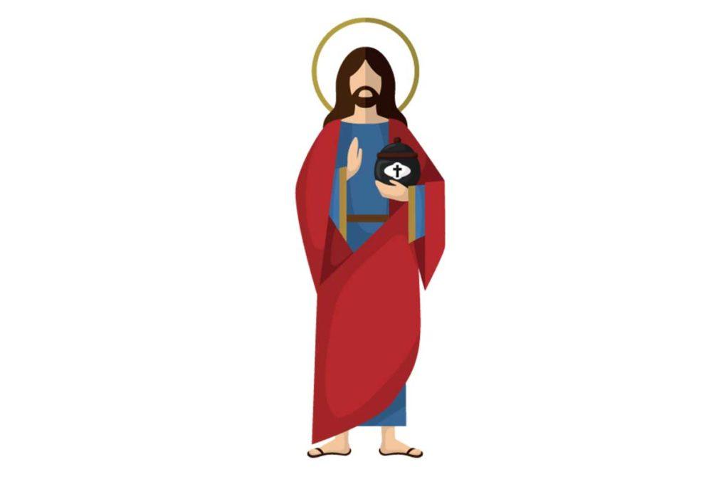 キリストのイラスト
