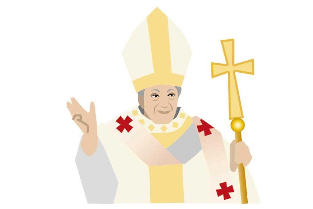 教皇のイメージイラスト