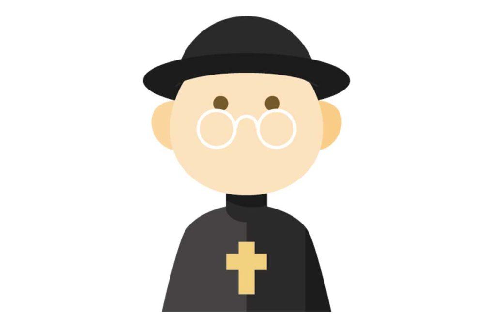 牧師のイラスト