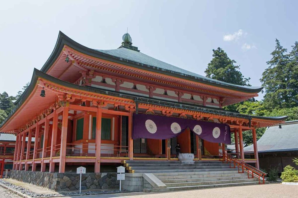 比叡山延暦寺 阿弥陀堂(滋賀)