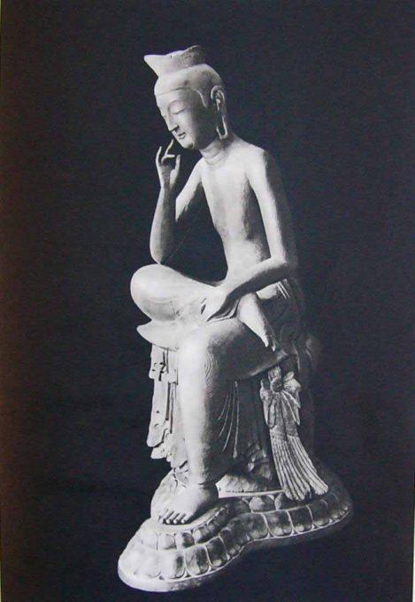 木造弥勒菩薩半跏像(広隆寺)