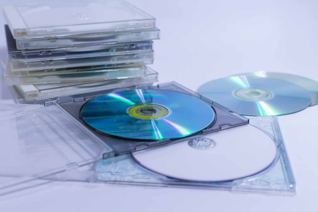 CDとCDケース