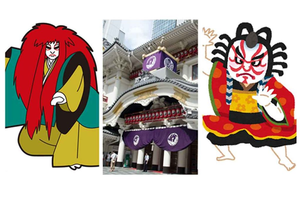歌舞伎のイメージ