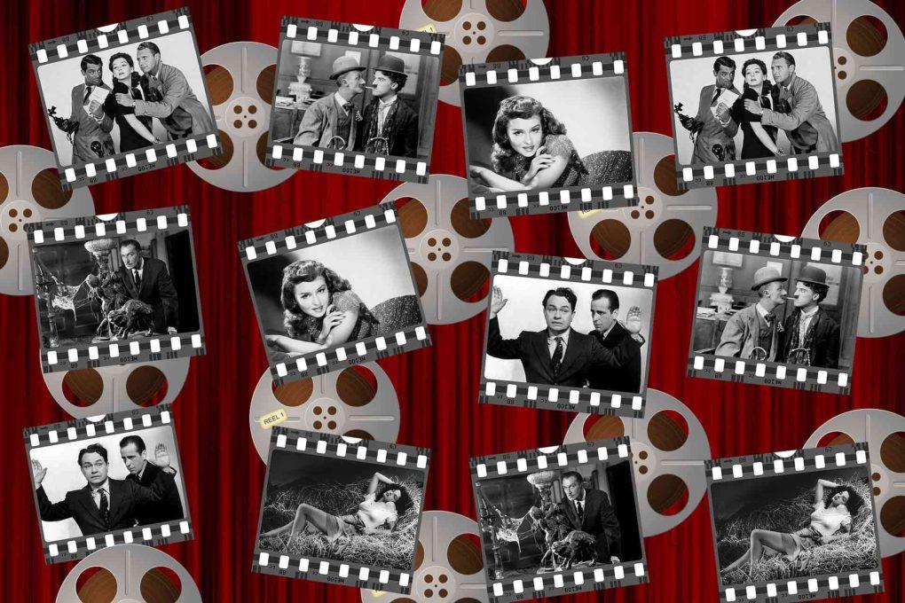 様々な映画の一場面