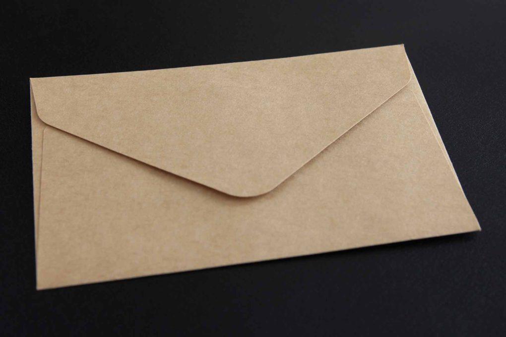 一般的な手紙のイメージ