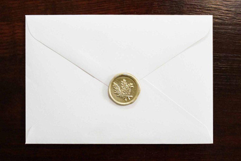 あらたまった手紙のイメージ