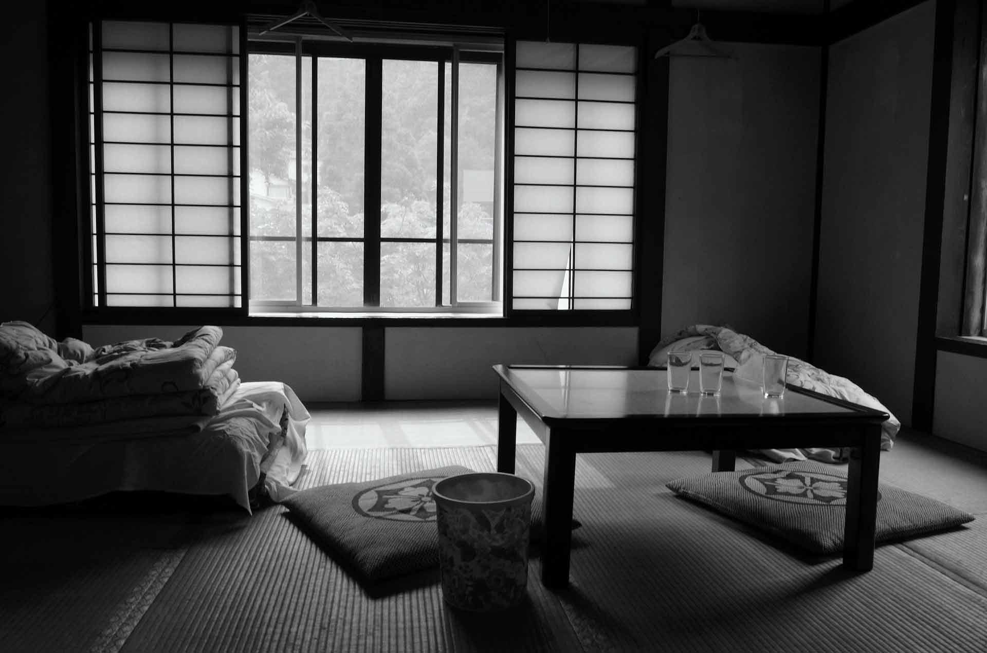 民宿の部屋