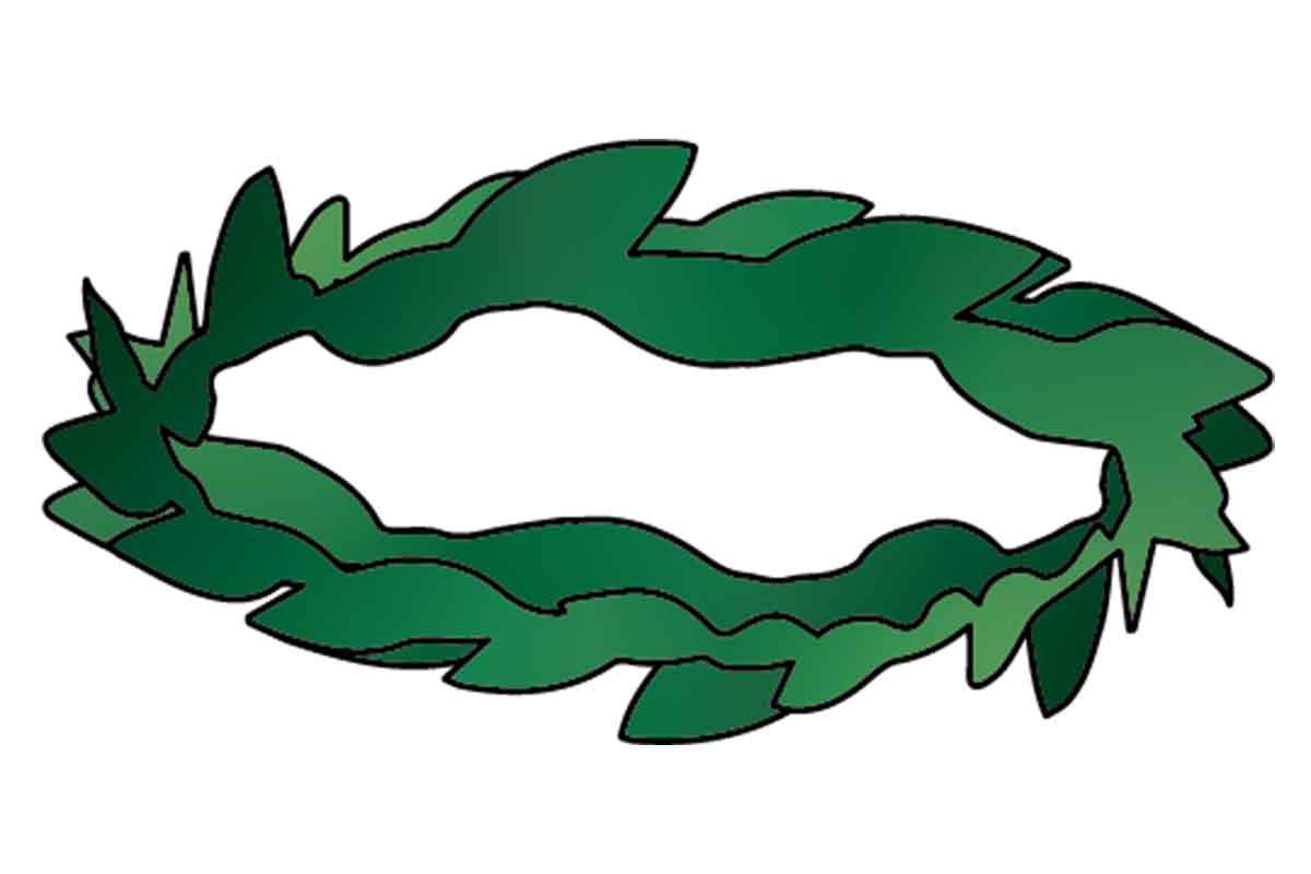 オリーブの葉冠