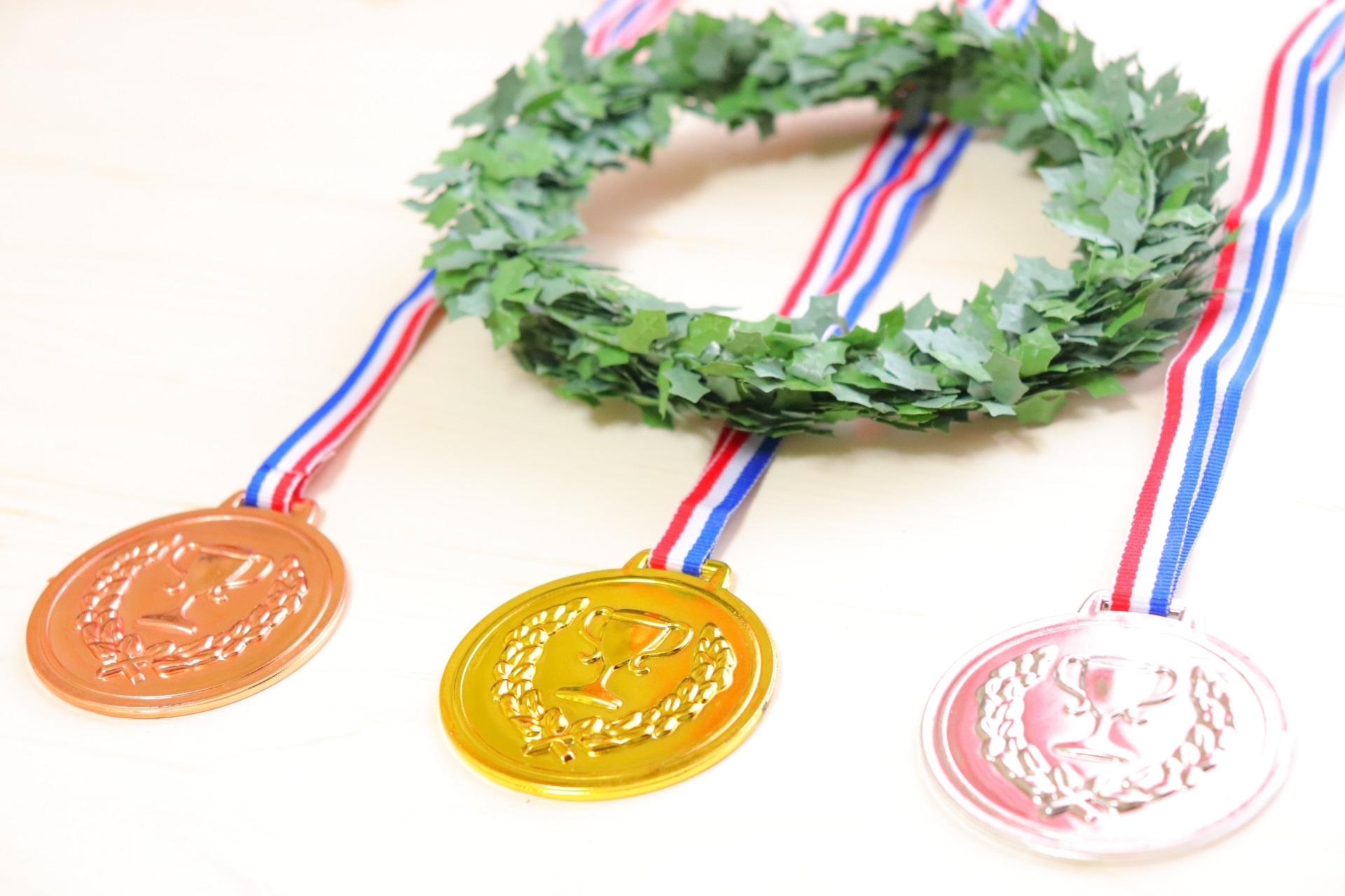 金銀銅のメダル